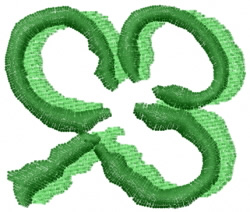 Clover 21 embroidery design