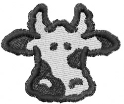 Cow 3 embroidery design