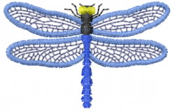 Dragonfly 3 embroidery design