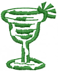Margarita embroidery design