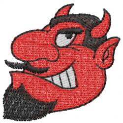 Devil Head 2 embroidery design