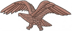 Eagle 1 embroidery design