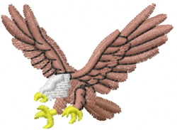 Eagle 5 embroidery design