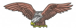 Eagle 15 embroidery design