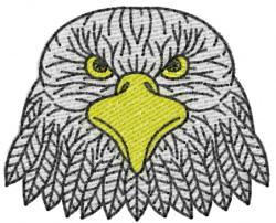 Eagle 16 embroidery design