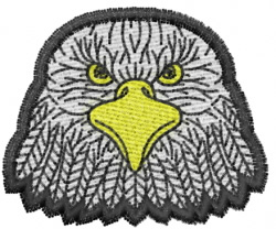 Eagle 25 embroidery design