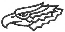 Eagle 28 embroidery design