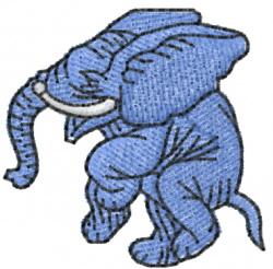 Elephant 11 embroidery design
