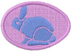 Rabbit Egg embroidery design