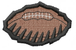Football Claws embroidery design