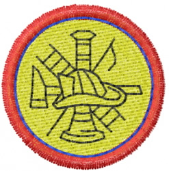 Fire Department 7 embroidery design