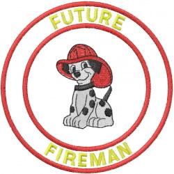 FUTURE FIREMAN embroidery design