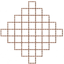 Grid 4 embroidery design