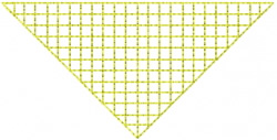 Grid 6 embroidery design