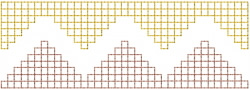 Grid 7 embroidery design