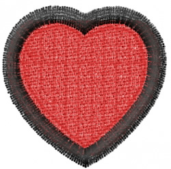 Heart 1 embroidery design