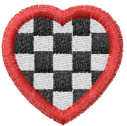 Heart 3 embroidery design