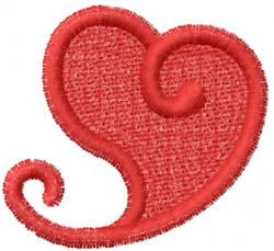 Heart 17 embroidery design