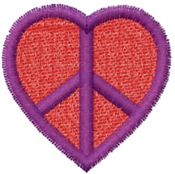 Heart 40 embroidery design