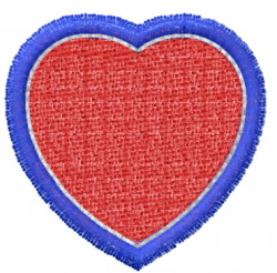 Heart 41 embroidery design