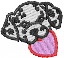 Heart 44 embroidery design