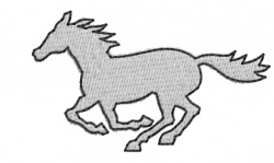 Horse 3 embroidery design