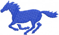 Horse 9 embroidery design