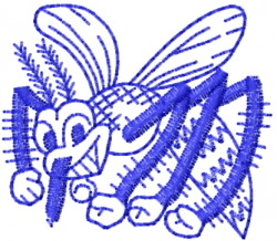 Insect 15 embroidery design