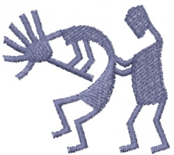 Kokopelli 2 embroidery design