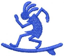Kokopelli 9 embroidery design