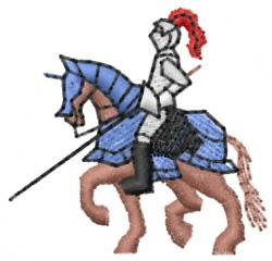 Knight 2 embroidery design