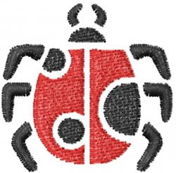Ladybug 6 embroidery design