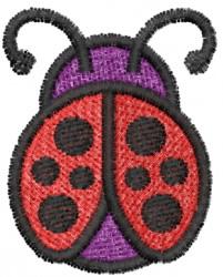 Ladybug 13 embroidery design