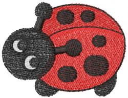 Ladybug 14 embroidery design