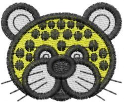 Leopard 5 embroidery design