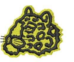 Leopard 12 embroidery design