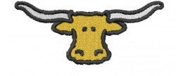 Longhorn 1 embroidery design