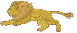 Lion 1 embroidery design