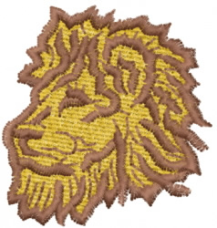 Lion 7 embroidery design