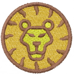 Lion 11 embroidery design