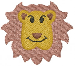 Lion 16 embroidery design