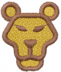 Lion 21 embroidery design