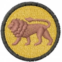 Lion 27 embroidery design
