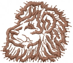 Lion 28 embroidery design
