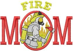 Fire Mom embroidery design