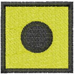 Nautical Flag I embroidery design
