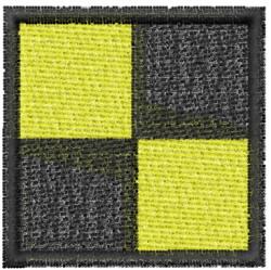 Nautical Flag L embroidery design