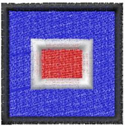 Nautical Flag W embroidery design