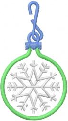 Snowflake Ornament 3 embroidery design