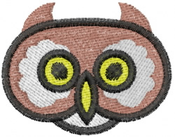 Owl 3 embroidery design